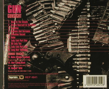 Gun: Gunsight,'69'70, Digi, FS-New, Repertoire(REP 4841), , 2000 - CD - 96558 - 12,50 Euro