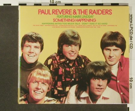 Revere,Paul & the Raiders: Something Happening'68,Digi, Repertoire(REP 4961), FS-New, 2001 - CD - 96569 - 11,50 Euro