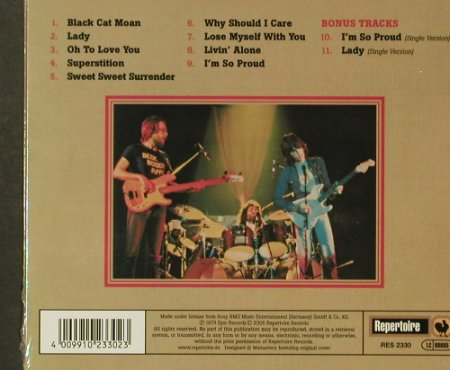Beck,Bogert & Appice: Same,(73),11Tr., Digi, FS-New, Repertoire(RES 2330), , 2005 - CD - 96574 - 11,50 Euro