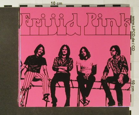 Frijid Pink: Same(70),+5Bonus,Digi, FS-New, Repertoire(REP 5057), D, 2005 - CD - 96578 - 11,50 Euro