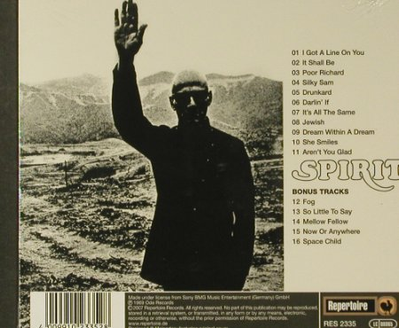 Spirit: The Family That Plays Together(69), Repertoire, Digi(RES 2335), FS-New, 2007 - CD - 96582 - 11,50 Euro