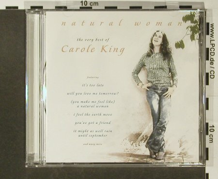 King,Carole: Natural Woman-The Very Best Of, Columbia(496181 2), EU, 22Tr., 2000 - CD - 96638 - 10,00 Euro