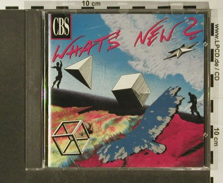 V.A.What's New: September/October 1990, CBS(SAMcd 1445), A, 1990 - CD - 96646 - 7,50 Euro