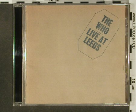 Who: Live At Leeds,14Tr., Polydor(), D, 1995 - CD - 96685 - 10,00 Euro