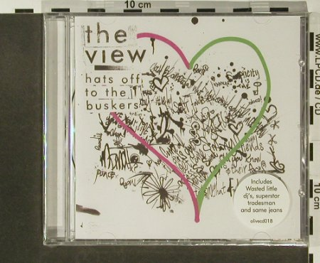 View,The: Hats Off The Buskers, FS-New, 1965 Records(OLIVECD 18), EU, 2007 - CD - 96734 - 10,00 Euro