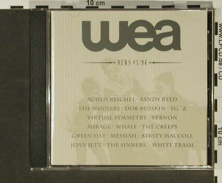 V.A.Wea News 1/94: 16 Tr. u.a. Achim Reichel,Green Day, WEA(858), D,  - CD - 96823 - 5,00 Euro