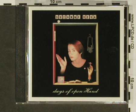 Vega,Suzanne: Days Of Open Hand, AM(395 293-2), D, 1990 - CD - 96856 - 10,00 Euro