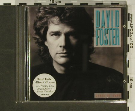 Foster,David: River Of Love, Atlantic(), D, 1990 - CD - 96866 - 7,50 Euro