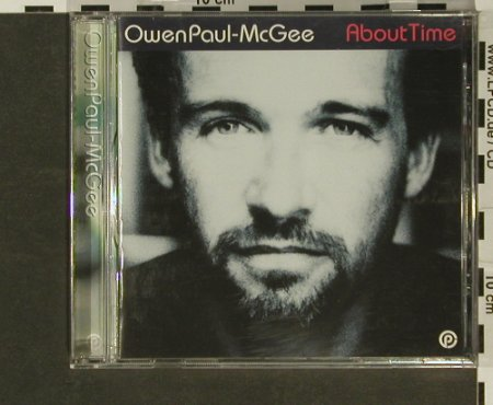 Mc Gee,OwenPaul: About Time, Optimistic(), , 01 - CD - 96916 - 5,00 Euro