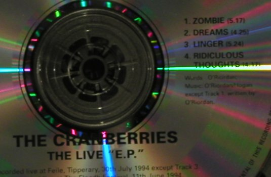 "Cranberries: No Need To Argue, +CD5"", Lim.Ed., Island(), , 1994 - 2CD - 96949 - 11,50 Euro"