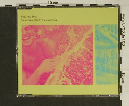 Pet Shop Boys: Se a Vida e*2+2,(That's the way .), Parlophone(CDRDJ6443), NL,Promo, 1996 - CD5inch - 97117 - 5,00 Euro