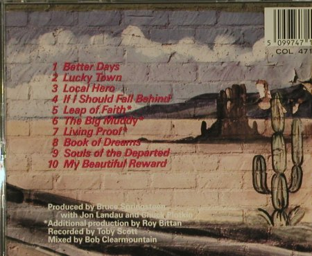 Springsteen,Bruce: Lucky Town, Columbia(), A, 1992 - CD - 97470 - 10,00 Euro