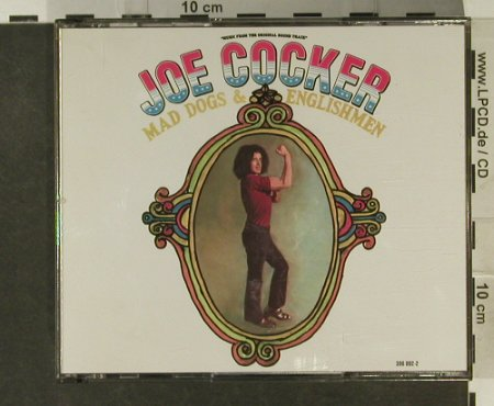Cocker,Joe: Mad Dogs & Englishmen, 19 Tr., AM(396 002-2), D, 1970 - 2CD - 97536 - 11,50 Euro