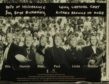 Mc Cartney,Paul: Hope Of Deliverance+3, Parlophone(8 80460), NL, 1992 - CD5inch - 97556 - 3,00 Euro