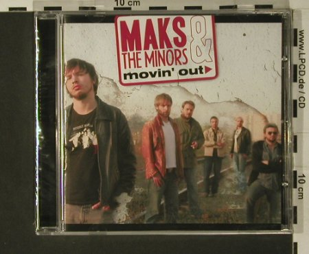 Maks & the Minors: Movin' Out, FS-New, M.A.T.(), EU, 2007 - CD - 97714 - 10,00 Euro