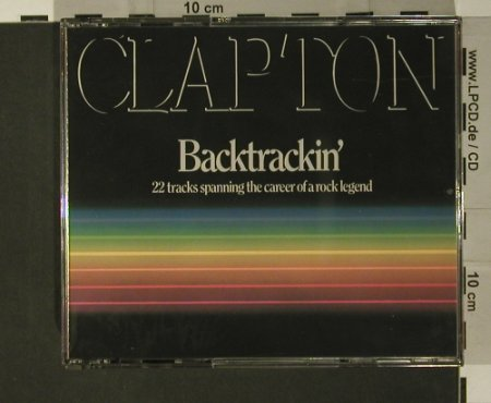 Clapton,Eric: Backtrackin', Polydor(821 937-2), D, 1984 - 2CD - 97730 - 10,00 Euro