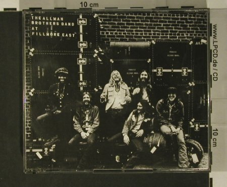Allman Brothers Band: At Fillmore East, Polydor(823 273-2), D, 1971 - 2CD - 97803 - 10,00 Euro