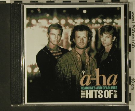 A-ha: Headlines & Deadlines ,Hits Of, WB(), D, 1991 - CD - 97912 - 10,00 Euro
