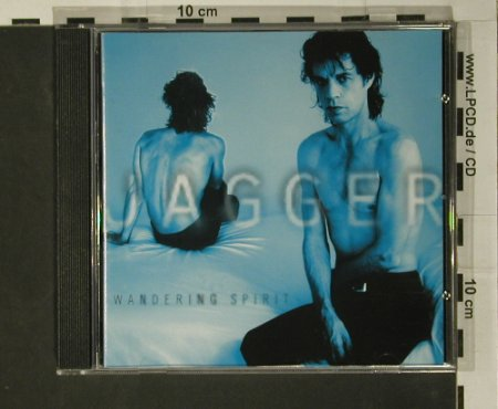 Jagger,Mick: Wandering Spirit, Atlantic(), D, 1993 - CD - 97917 - 7,50 Euro