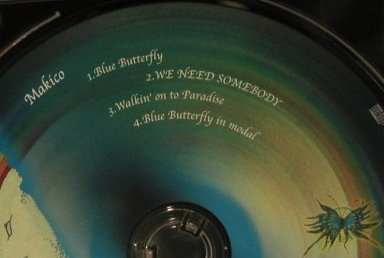 Makico: Blue Butterfly, WebKoo(), J, 2001 - CD5inch - 97931 - 5,00 Euro