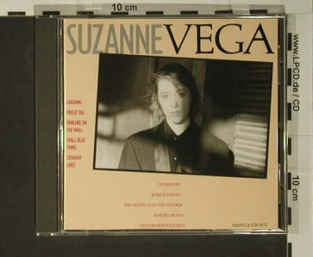 Vega,Suzanne: Same, AM(395 072-2), D, 1985 - CD - 97956 - 7,50 Euro
