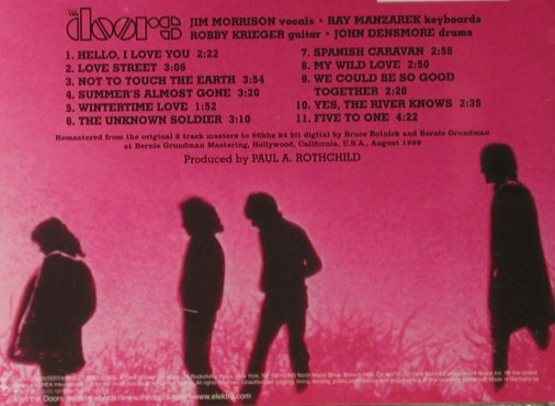 Doors: Waiting For The Sun(68), remaster, Elektra(), D, 1985 - CD - 98031 - 10,00 Euro