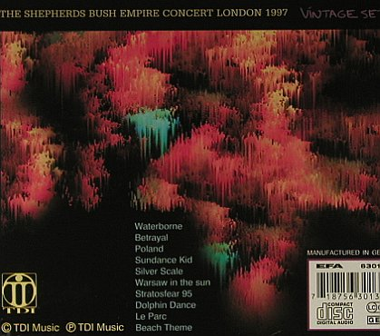 Tangerine Dream: Valentine Wheels-Conc.London'97, TDI(013), D,  - CD - 98283 - 10,00 Euro