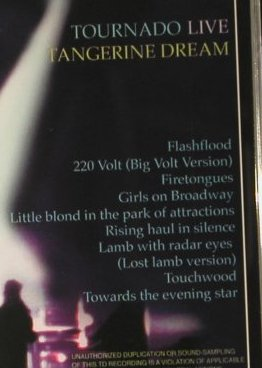 Tangerine Dream: Tournado-Live in Europe, TDI(011), D, 1997 - CD - 98284 - 7,50 Euro