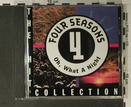 Four Seasons: Oh What A Night - Hit Collection, Curb(0078032CUR), D, 1994 - CD - 98328 - 5,00 Euro