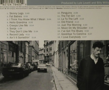 Lovett,Lyle: I Love Everybody, Curb(0076402CUR), D, 1994 - CD - 98339 - 10,00 Euro
