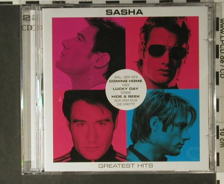 Sasha: Geatest Hits, Warner Music(), D, 2006 - 2CD - 98353 - 10,00 Euro