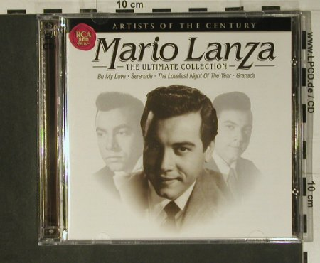 Lanza,Mario: The Ultimate Collection, RCA(), EU, 1999 - 2CD - 98515 - 14,00 Euro