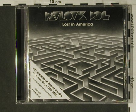 Pavlov's Dog: Lost In America(80), +8 Bonus Tr., Rockvibe(), D, 2007 - CD - 98546 - 10,00 Euro