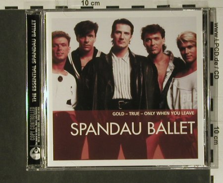 Spandau Ballet: The Essential, 15 Tr., Capitol(3 43973 2), D, 2005 - CD - 98553 - 10,00 Euro