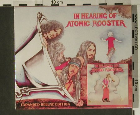 Atomic Rooster: In Hearing Of, FS-New, Castle(CMQCD926), EU, 2004 - CD - 98612 - 12,50 Euro