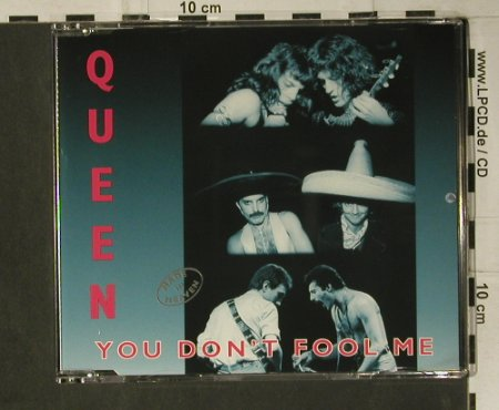 Queen: You Don't Fool Me*4, Parlophone(8 82768 2), NL, 1996 - CD5inch - 98761 - 5,00 Euro
