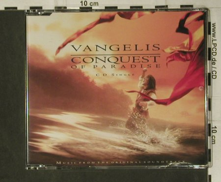 Vangelis: Conquest Of Paradise+3, EW(YZ704CD), D, 1992 - CD5inch - 98767 - 2,50 Euro
