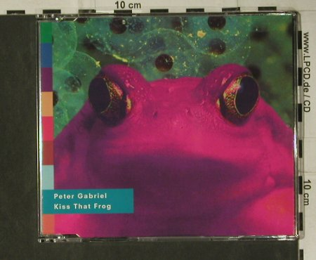 Gabriel,Peter: Kiss That Frog*2+3, Real World(PGSDF 10), NL, 1993 - CD5inch - 98789 - 5,00 Euro