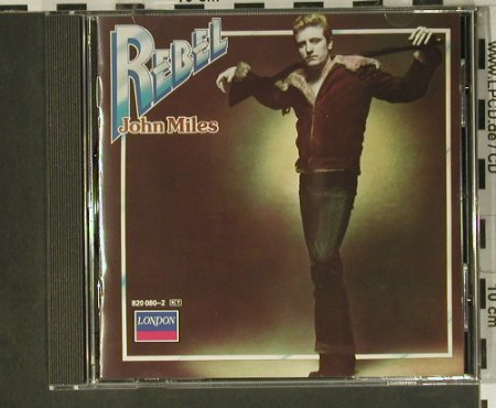 Miles,John: Rebel, London(820 080-2), D, 1976 - CD - 98840 - 5,00 Euro