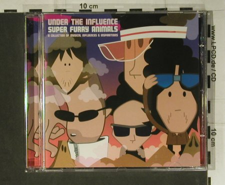 V.A.Under The Influence: Super Flurry Animals, DMC(UTICD006), UK, 2005 - CD - 98920 - 10,00 Euro