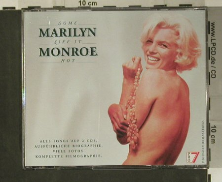 Monroe,Marilyn: Some Like It Hot,34 Tr., Edel(EDL 2599-2), D, 1992 - 2CD - 99018 - 5,00 Euro