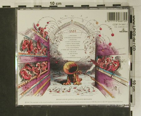 Queen: Innuendo, Parlophone(CDP 79 5887 2), NL, 1991 - CD - 99079 - 7,50 Euro