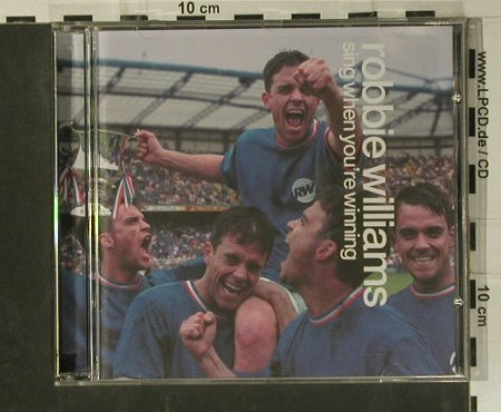 Williams,Robbie: Sing When You're Winning, Chrysalis(5 29024 2), D, 2000 - CD - 99084 - 10,00 Euro