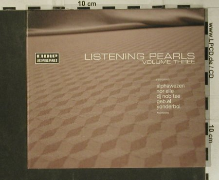 V.A.Listening Pearls Vol.3: 11 Tr., Digi, Loop L.P.(mole cd 042-2), D, 2001 - CD - 99086 - 7,50 Euro