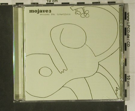 Mojave 3: Excuses for Travellers, 4AD(CAD 2K05 CD), UK, 2000 - CD - 99134 - 10,00 Euro