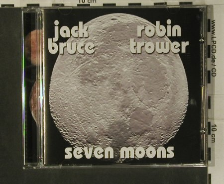 Bruce,Jack & Robin Trower: Seven Moons, Evangeline(GEL 4116), UK, 2008 - CD - 99193 - 10,00 Euro