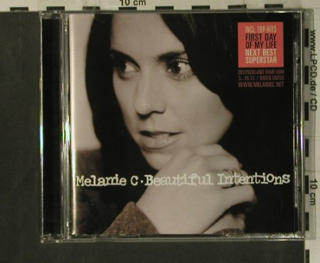 Melanie C: Beautiful Intensions, Red Girl Records(), EU, 2003 - CD - 99258 - 7,50 Euro