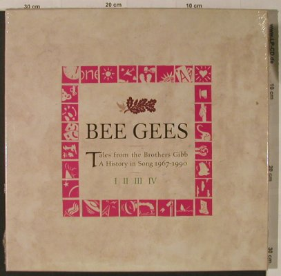 Bee Gees: Tales from The Brothers Gibb,BoxSet, Polydor(843 911-2), D,FS-New, 1990 - 4CD - 99270 - 30,00 Euro