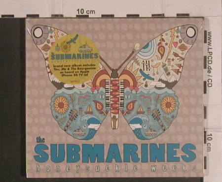 Submarines: Honeysuckle Weeks,Digi,FS-New, Nettwerk(30793-2), EU, 2008 - CD - 99495 - 10,00 Euro