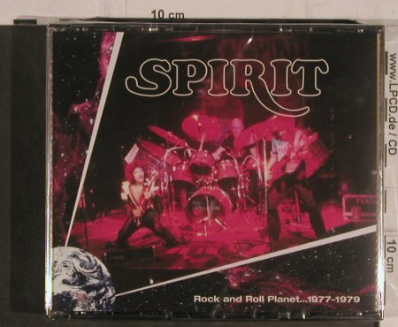 Spirit: Rock and Roll Planet..1977-79, Evangeline(ACAD 8199), EU, 2008 - 3CD - 99496 - 12,50 Euro